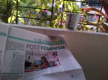 Uninterrupted coffee and paper