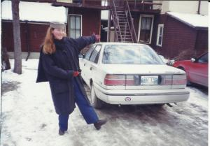 My 'new' car in Winnipeg, Manitoba, Canada, 1997