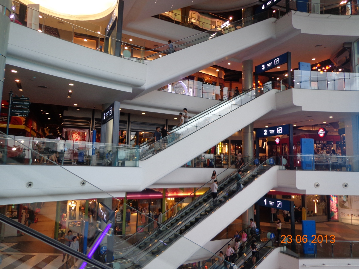 Mega Malls for Meetings? Bangkok's Terminal 21
