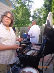 Gotta BBQ! (photo: Carissa Hickling)