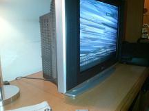 TV abstract art