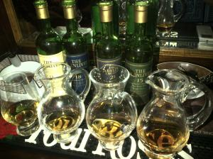 Glenlivet 12, 15, 18 + 21 year (Photo: Carissa Hickling)