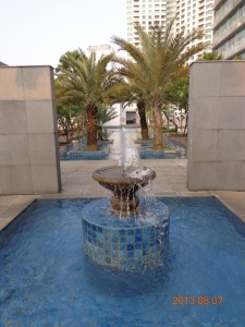 A little fountain action?