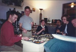 Home made sushi... Osborne Village, Winnipeg (late 90s)