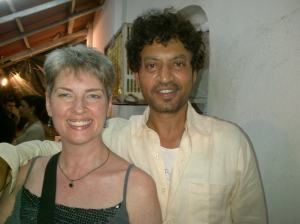 Me with Irrfan Khan, one of the many adult celebrants!