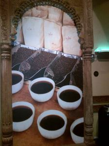 An alter to coffee...