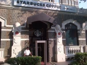 Taj Starbucks