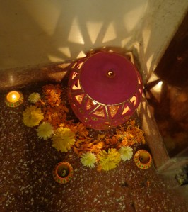 Invite Lakshmi with light...