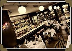 Surprisingly civilized for a 'mall' café (Photo: Bistro Baron website)