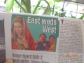 East weds west - read all about it!