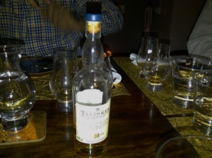 2nd whisky - Talisker 10 year (Photo: Carissa Hickling)