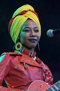 Fatoumata Diawara (Photo: Wikipaedia)