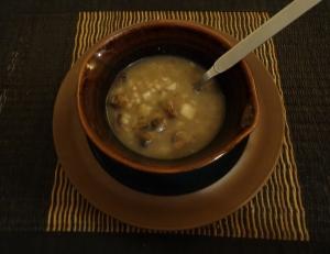 MMmm.... Mushroom Soup (Photo: Carissa Hickling)