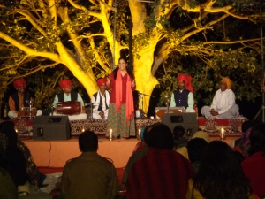 Introducing the Rajasthani folk group