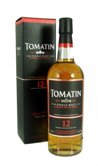 Tomatin 12 Yr (Photo: www.prestigedrinks.com)