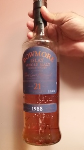 Bowmore 21 year