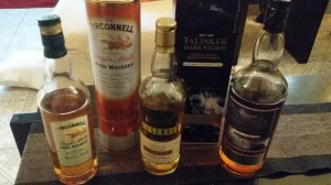 Tyrconnell, Ledaig and Talikser Dar Storm