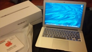 Oh bliss! Oh joy! Oh MacBook Air!
