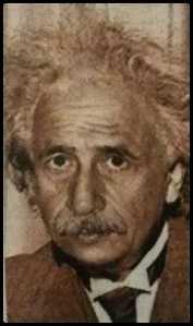 A sketch done of Naseer as Einstein (TOI)