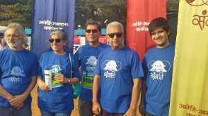 Avehi Abacus team with Anand Pathwardan, Rathna Pathak Shah, Denzil Smith, Naseeruddin Shah, Vivaan Shah