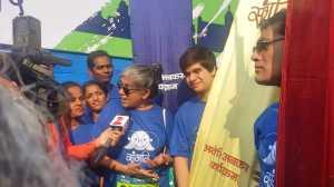 Media bites - Ratna Pathak Shah with Vivaan Shah and Denzil Smith