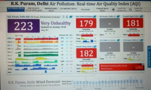 Delhi Air Pollution (aqicn.org)