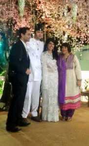 Parsi Wedding - Happy couple shutterbug