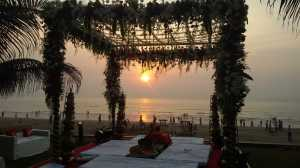 Mandap by the sea