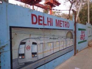 Ahh... the Delhi metro cometh