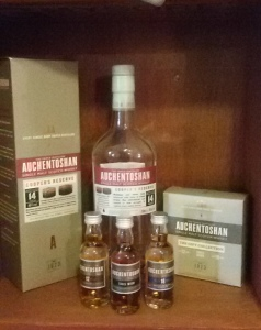 Auchentoshan quartet (Whisky Lady)