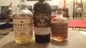 May tasting session trio (Whisky Lady)