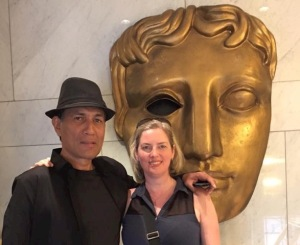 Partner and I at BAFTA