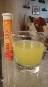 Fizzy vitamin C