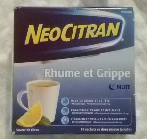 NeoCitran... nothing beats to help you sleep when sick
