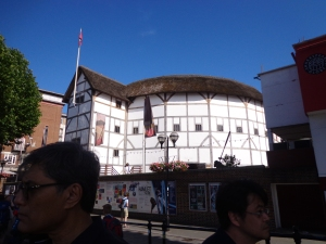 Reconstructed Globe Theatre