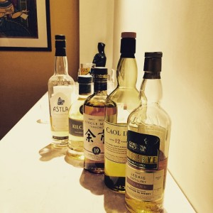 Five fabulous drams for eight amazing whisky women! (Table For One)