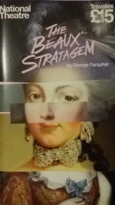 The Beaux' Stratagem playbill