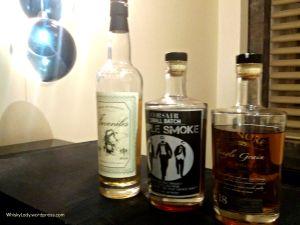 Juveniles, Corsair Triple Smoke, Greenore 18 year (Whisky Lady)