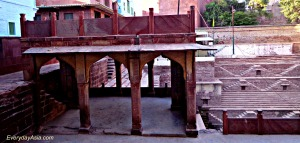 Jodhpur Stepwell - Above