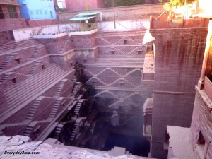 Jodhpur Stepwell - Look down