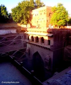 Jodhpur Stepwell - Side