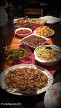East Indian feast!