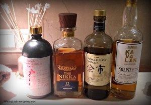 Togouchi, Nikka, Yoichi, Kavalan