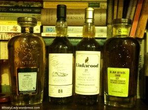 Imperial, Benrinnes, Linkwood, Blair Athol