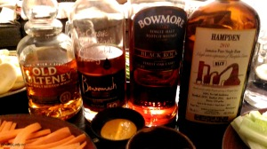 Old Pulteney, Benromach, Bowmore, Hampden